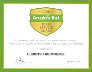 2015 angies list award winner